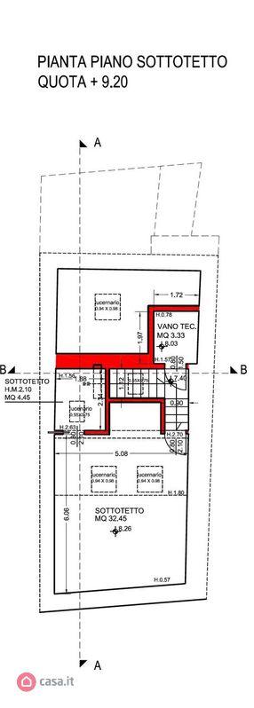 Mappa terzo piano